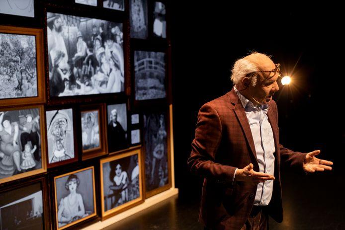 Schilder en kunstvervalser Geert Jan Jansen is de spil in een bijzondere toneelvoorstelling van Het Zuidelijk Toneel en Theatergroep Berlin.
