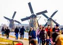De molens van Kinderdijk zijn sinds 1997 Werelderfgoed.
