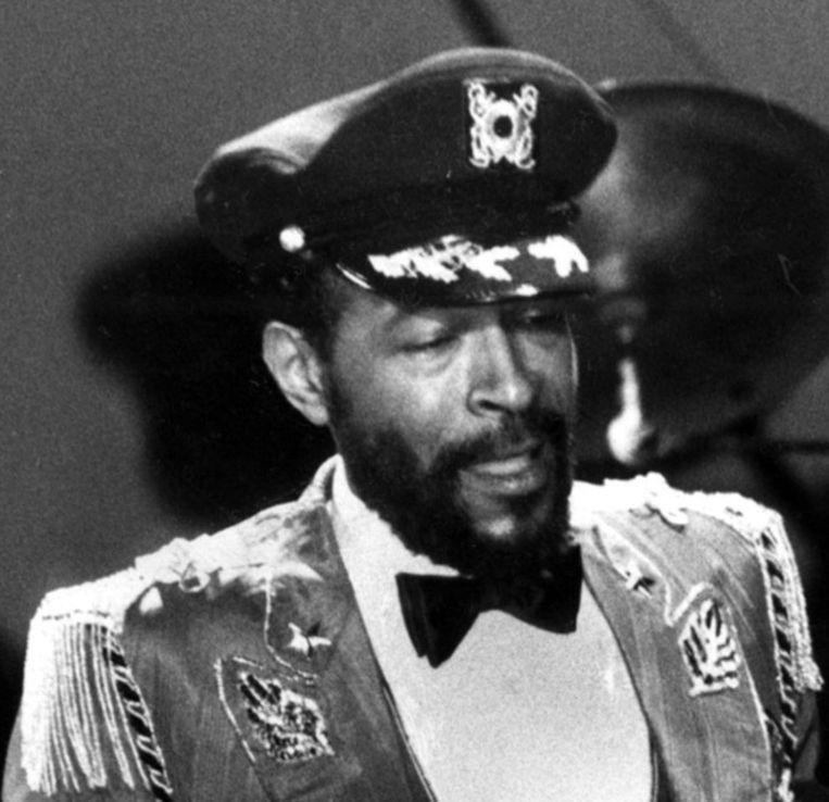 Marving Gaye (1939-1984). Foto uit 1983. Beeld PHOTO_NEWS