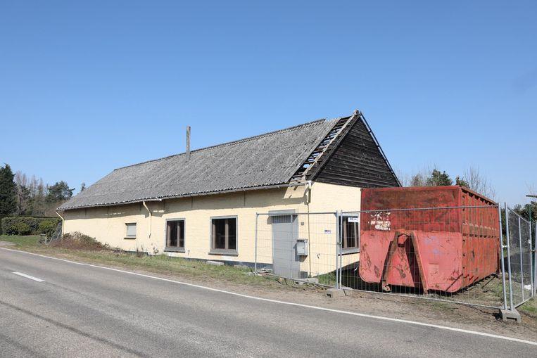 Het huis op de Meldertsebaan.