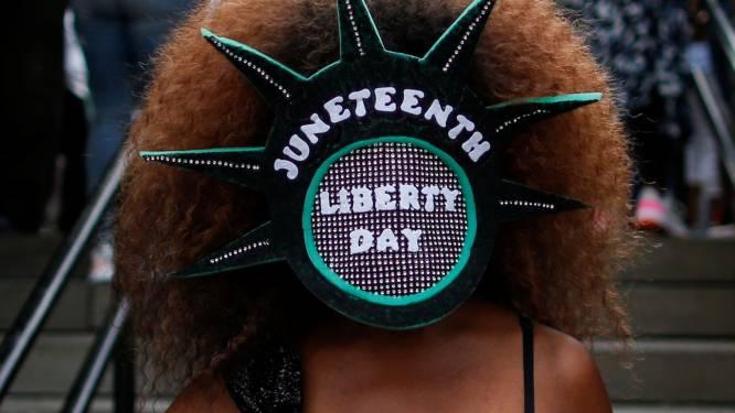 Amerikanen vieren afschaffing van slavernij