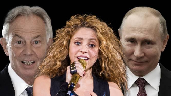 Tony Blair, Vladimir Poetin, Shakira en duizenden anderen in verlegenheid door Pandora Papers