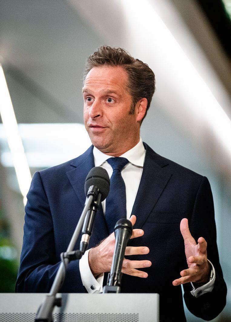 Minister Hugo de Jonge (Volksgezondheid, Welzijn en Sport) Beeld Hollandse Hoogte /  ANP