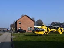 Traumahelikopter trekt veel bekijks in Daarlerveen