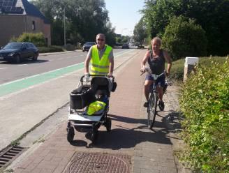 'Claire' doorkruist Londerzeel in kinderwagen: pop meet luchtkwaliteit