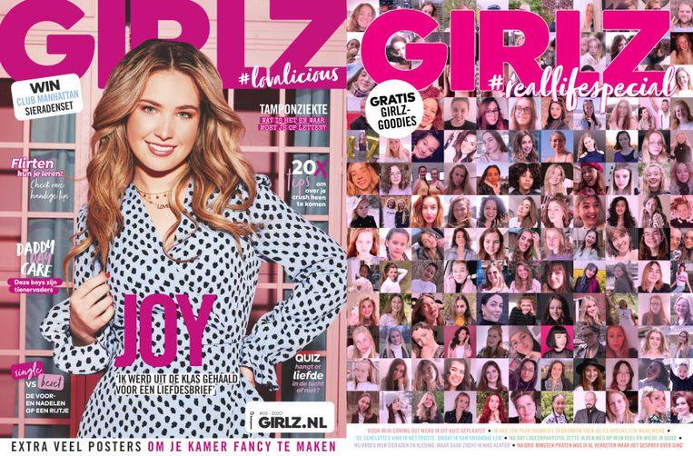 Girlz uit 2002 en de laatste editie.  Beeld