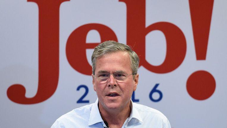 Jeb Bush Beeld afp