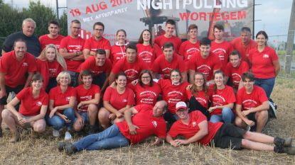 KLJ afdelingen Wortegem en Petegem organiseren samen Nightpulling
