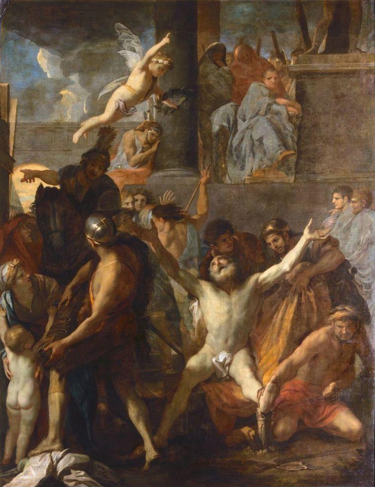 Le Crucifiement de saint André van Charles Lebrun. Beeld