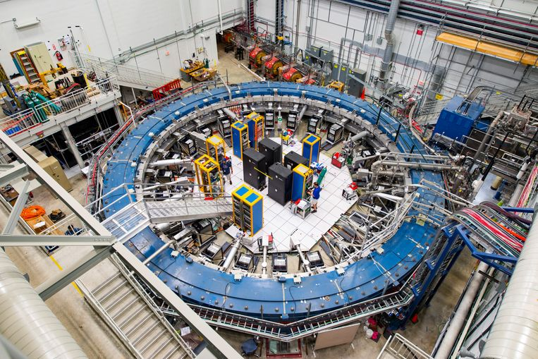 Het Muon g-2 experiment bij Fermilab. Beeld Fermilab