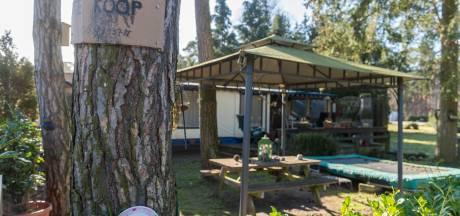 Meerdere brandjes op voormalig camping de Zwarte Bergen, mogelijk vandalisme