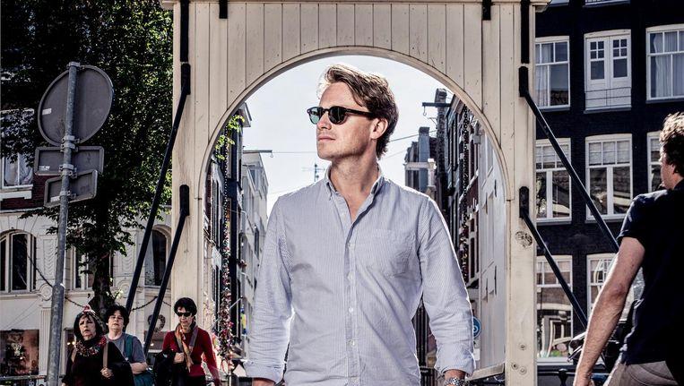 Sander Schimmelpenninck: 'Als grachten-gordeljournalistje was het ook goed om weer eens het land in te gaan.' Beeld Martin Dijkstra