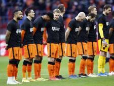 Oranje op rapport | 35 doelpogingen tegen Letland, maar het regent 6'jes