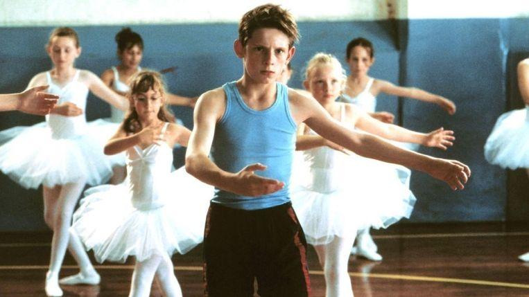 Jamie Bell in 'Billy Elliot' van Stephen Daldry. Beeld