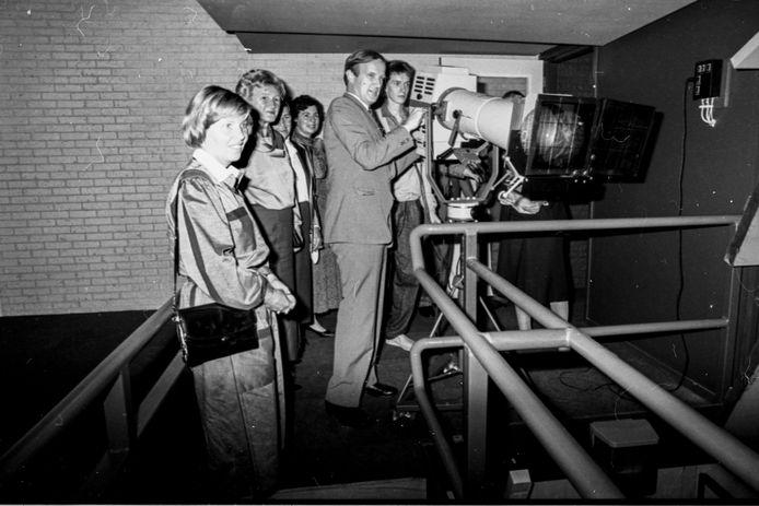De opening van Westland Theater De Naald op 24 september 1985.