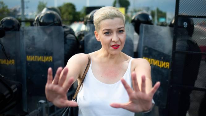 Wit-Russische activiste roept vanuit cel op tot einde geweld