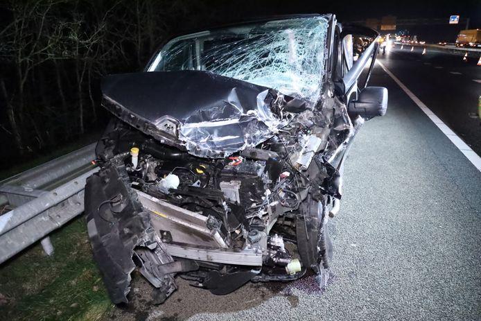 Ongeluk op de A12