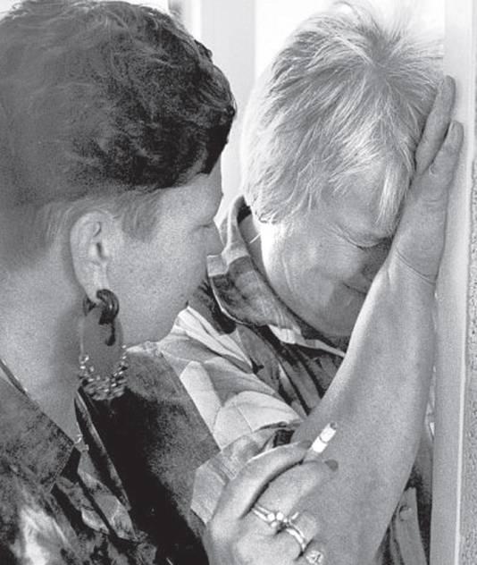 Elske ter Veld moest een traantje laten bij haar afscheid.