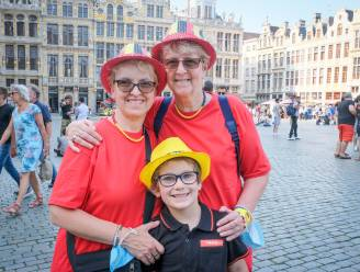 """Ondanks ingetogen editie loopt Brussel vol voor nationale feestdag: """"Niet alleen driekleur tonen wanneer België speelt"""""""
