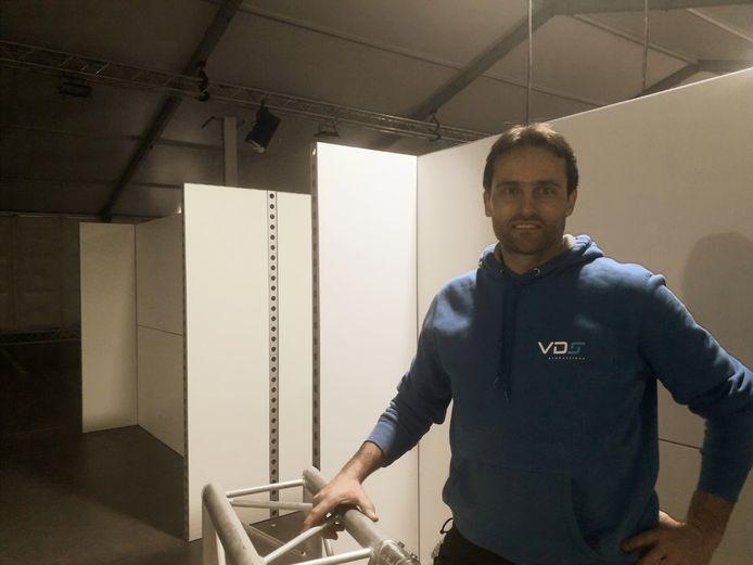 Dirk Vermeiren is blij dat hij terug aan de slag kan met zijn firma
