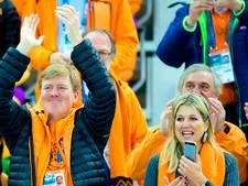 Koning en koningin bij start Spelen in Pyeongchang