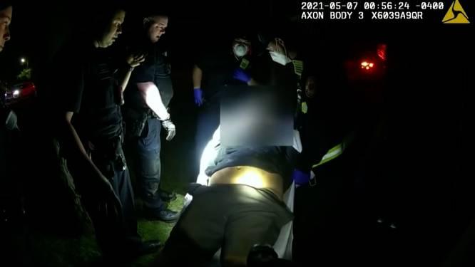 """Amerikaanse autoriteiten onderzoeken dood van 34-jarige man na arrestatie: """"Haal hem van z'n maag, man"""""""