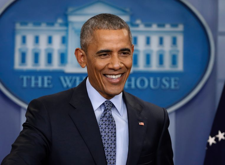 Barack Obama. Beeld AP