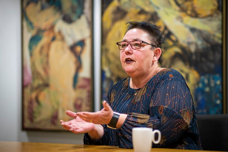 Burgemeester Marion Leurs-Mordang. Beeld
