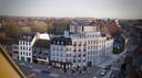 Entirus plant een bouwproject op het Toyeplein. Het project krijgt het uitzicht van 5 herenhuizen.