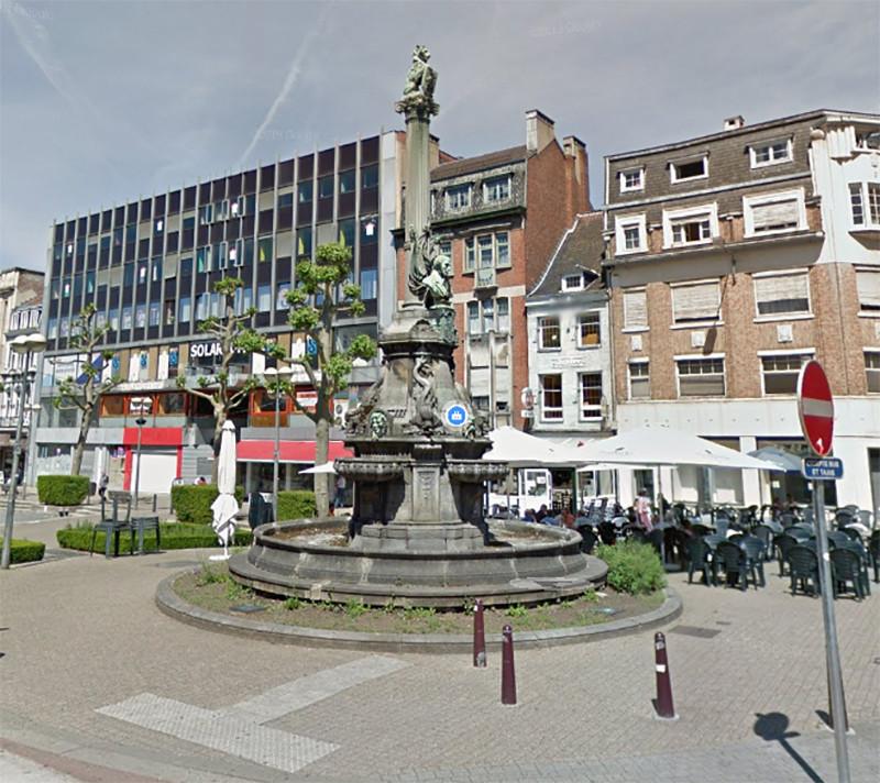 De Fontaine David in Verviers