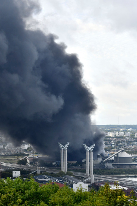Incendie à Rouen: des nouvelles rassurantes pour la Wallonie