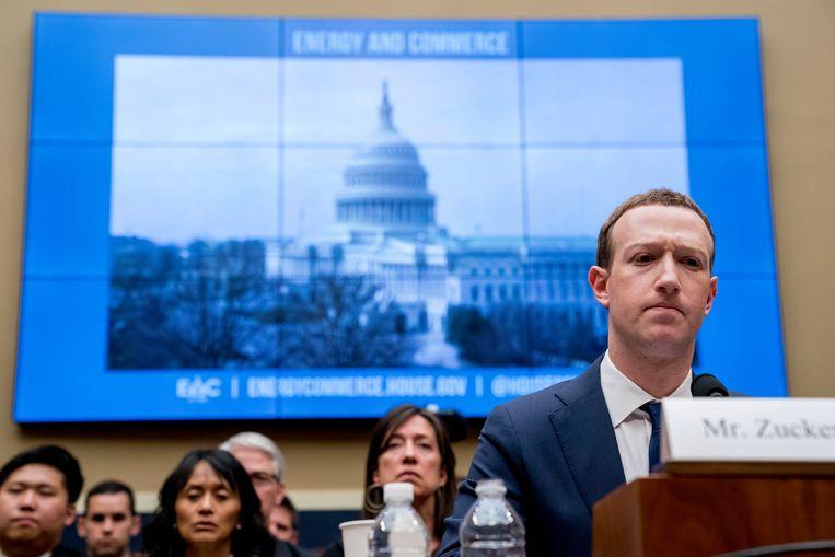 Facebook CEO Mark Zuckerberg. Beeld AP