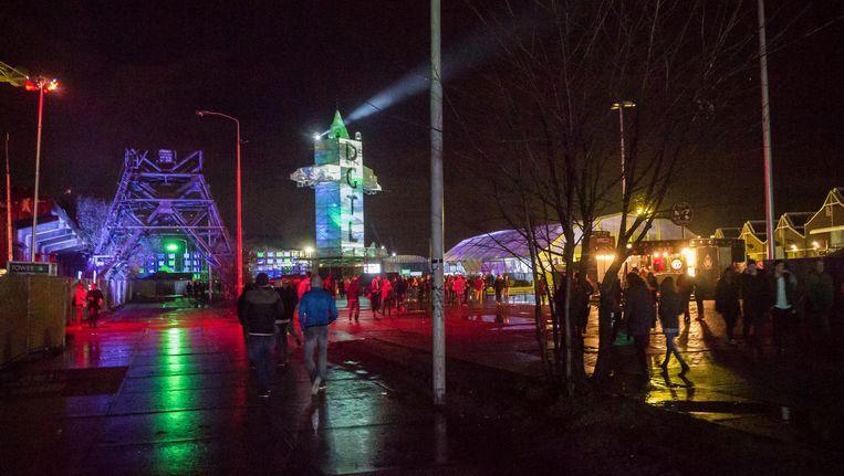 DGTL Festival is op het NDSM-terrein in Noord Beeld Mats van Soolingen