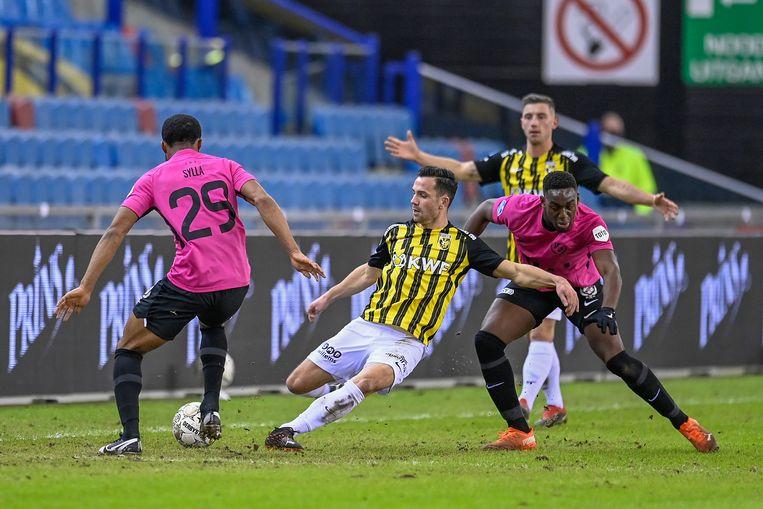Vitesse behaalde een overtuigende zege op FC Utrecht.   Beeld Pro Shots / Stefan Koops