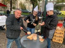 Boeren brengen Hagenaars ontbijt, binnenstad opnieuw afgezet door legertrucks