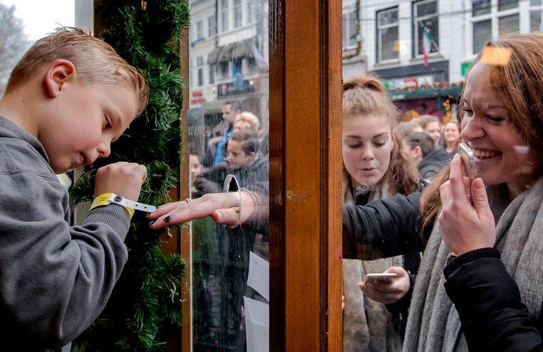 Eind 2016 kreeg DIPG plots heel wat aandacht in Nederland door de 6-jarige patiënt Tijn, die met zijn nagellak-actie 2,5 miljoen euro ophaalde voor Serious Request. Beeld anp