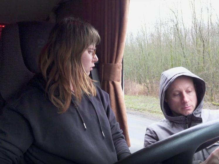 'Lady Trucker' Silke laat zich niet zomaar doen