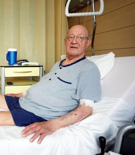 """Tony, victime de la saturation des hôpitaux: """"Sans le corona, j'aurais encore deux jambes"""""""