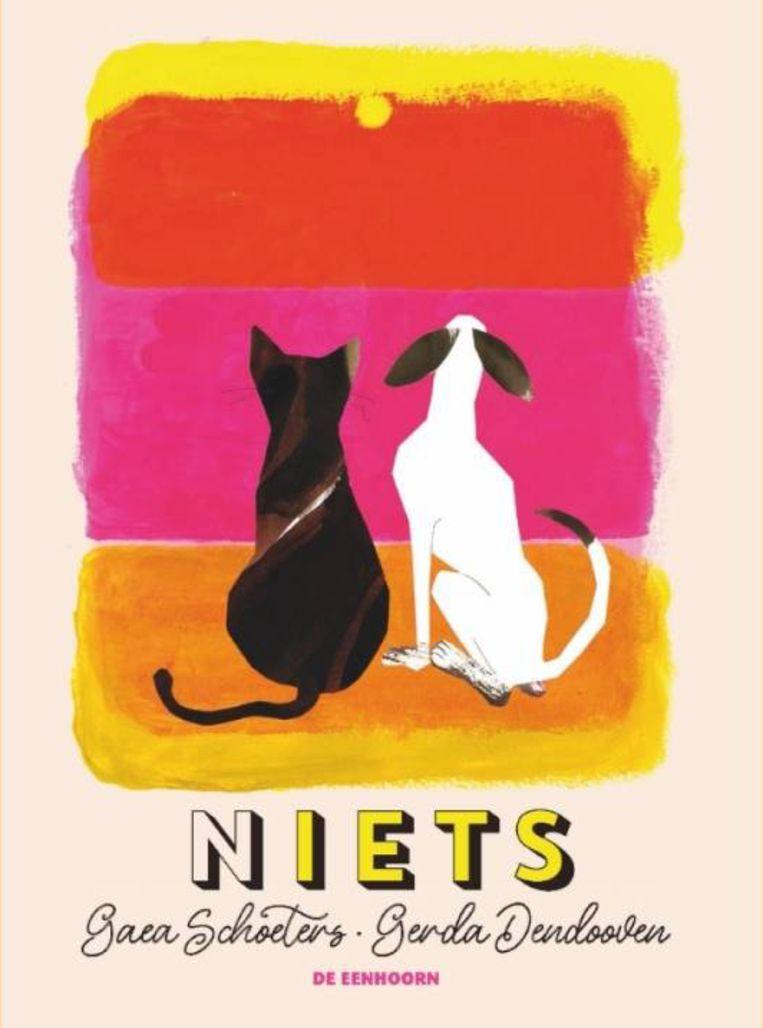 Gaea Schoeters en Gerda Dendooven, '(N)iets', De Eenhoorn, 64 p., 22,50 euro, 6+. Beeld rv