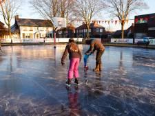 Bladel heeft het weer voor elkaar: eerste schaatsbaan van de regio open