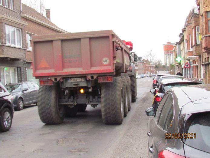De bewoners van de Lourdesstraat lieten weten dat er heel wat werverkeer door hun straat reed.