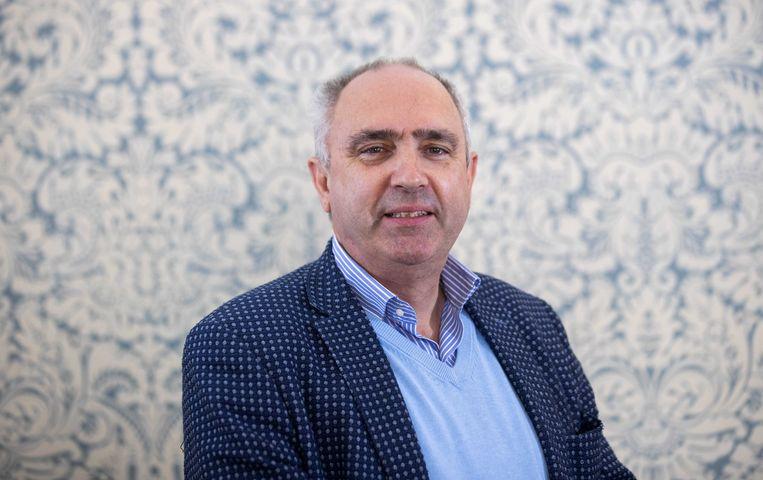 Peter van Dalen van de ChristenUnie sluit zich in het Europees Parlement aan bij de christen-democratische fractie EVP. Beeld ANP