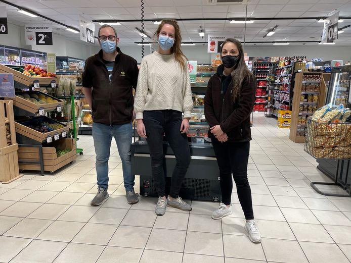 Het team van Carrefour Express.