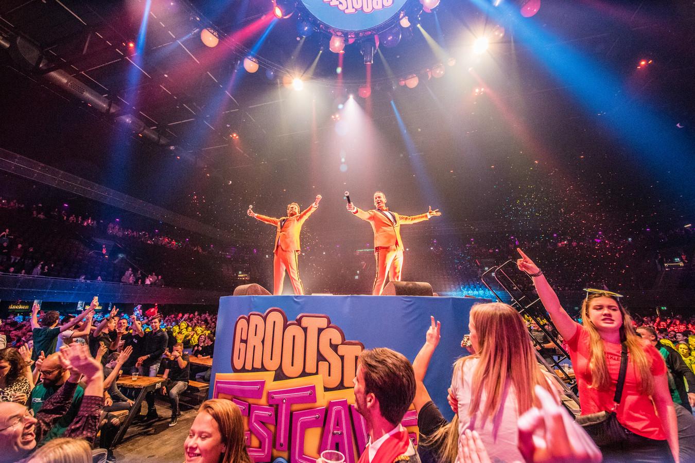 Het Feestteam op 25 januari dit jaar in de Amsterdamse Ziggo Dome.