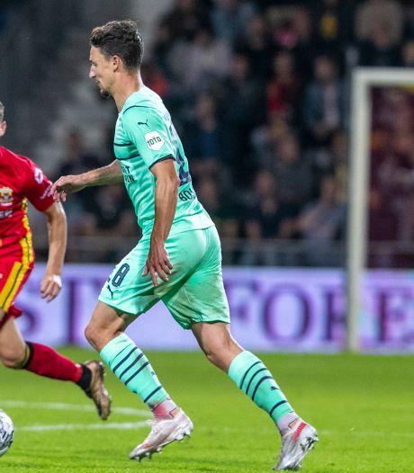 Lef van GA Eagles en Rommens blijft onbeloond tegen PSV: 'Niet het idee dat we zouden verliezen'