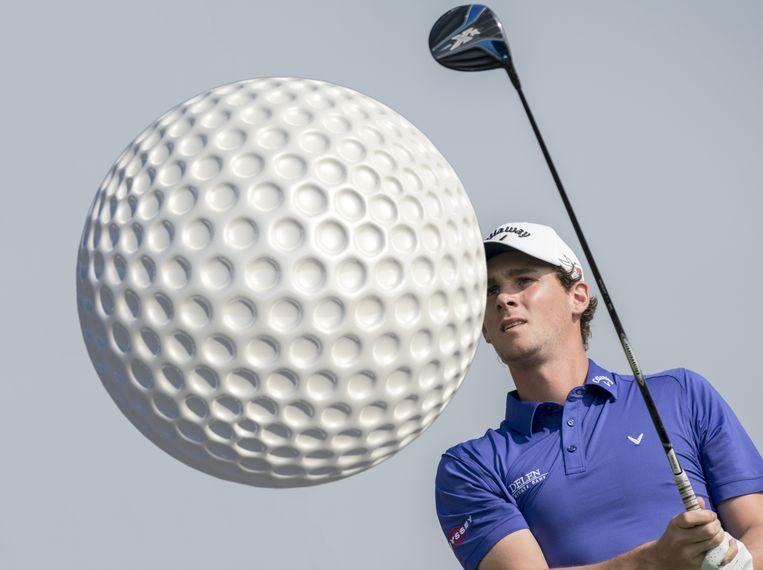 Thomas Pieters komt volgende week aan slag in de US Open. Beeld RV Jos Linckens @ Golfsupport (w