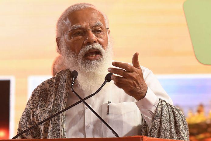 Eerste minister Narendra Modi betuigde zijn medeleven aan de slachtoffers.