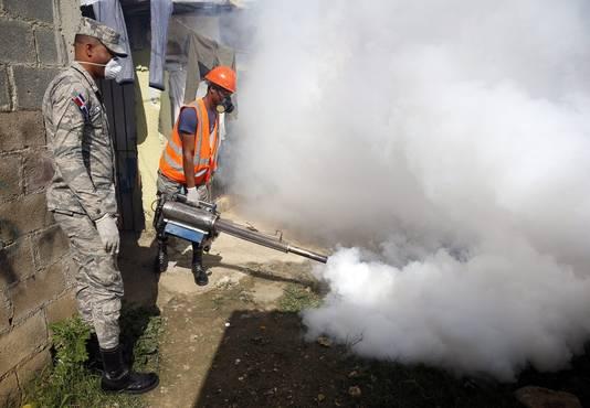 Ook de Dominicaanse Republiek gaat de strijd aan met de gevaarlijke Aedes-mug.