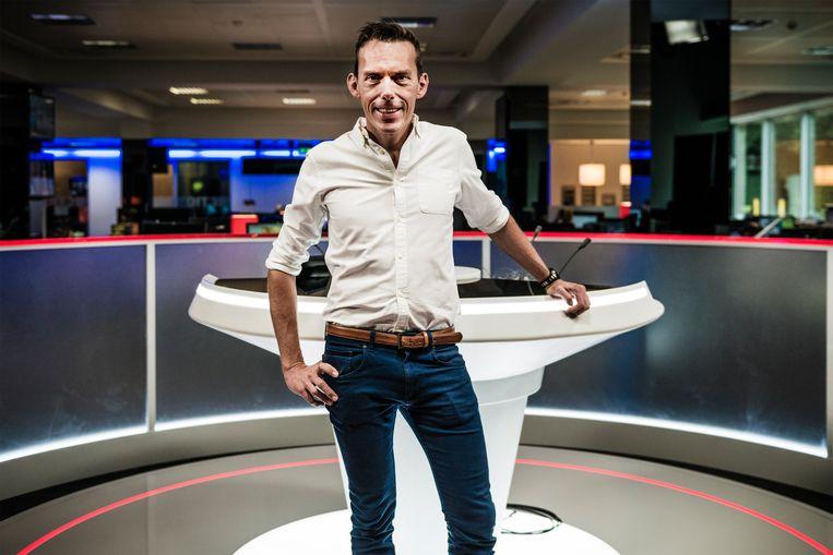 Nicholas Lataire blijft dan toch hoofdredacteur bij VTM Nieuws.  VTM nieuws studio Beeld geert braekers
