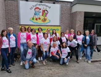 Leerkrachtenteam Schatteneiland stapt voor mama die strijd tegen borstkanker verloor